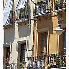 Italian Architecture, Cagliari, Sardinia by Claire McCall