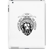 The Lion Conqueror  iPad Case/Skin