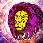 Lion Modern Pop Colors - T Shirt Prints and Stickers by Denis Marsili