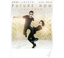 Future Now The Tour 2016 Demi Lovato Nick Jonas 3 Poster