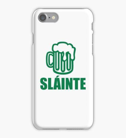 Green irish beer sláinte iPhone Case/Skin