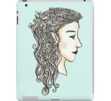 Elven lady iPad Case/Skin