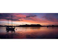 Sunset Before Typhoon Yolanda Photographic Print