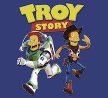 Troy Story - Simpsons & Pixar Toy Story Parody by apeape
