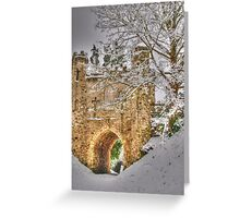 Reigate Castle Greeting Card