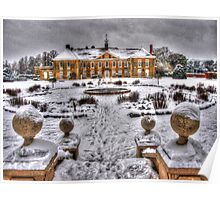 Reigate Priory in Winter Poster