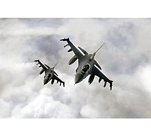 Fighting Falcons Photographic Print