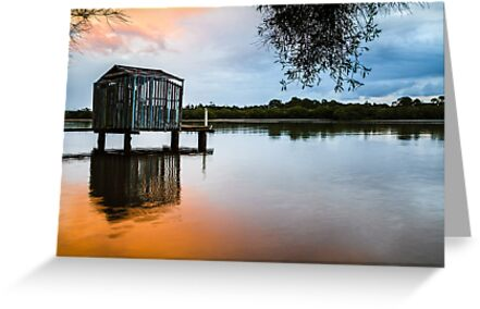 Peace at Pete's Jetty by Silken Photography
