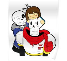 Undertale Sans and Papyrus Poster
