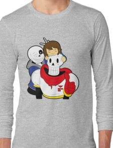 Undertale Sans and Papyrus Long Sleeve T-Shirt
