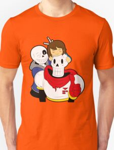 Undertale Sans and Papyrus T-Shirt