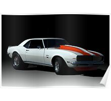 1969 Camaro SS-396 Dragster Poster