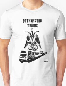 Bathometro trains white T-Shirt