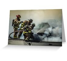 Fire Men Greeting Card