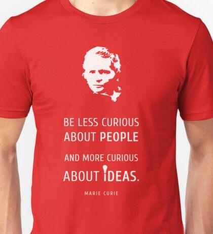 Marie Curie - T-Shirt Unisex T-Shirt