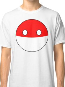 Polandball T-shirt Classic T-Shirt