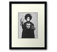 Bored With My Old Hairstyle Framed Print