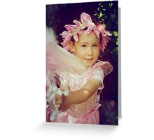 Angry Fairy Greeting Card