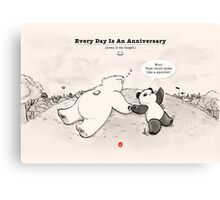 Every Day Is An Anniversary Canvas Print