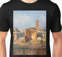 Ruined Landscape painting Unisex T-Shirt