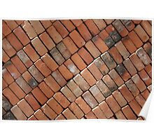 Wall of Adobe Bricks Poster