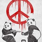 Pandalism 2 Peace Sign by Harry Fitriansyah