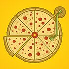 Pizza Vinyl by Harry Fitriansyah