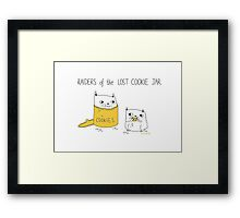 Cookie Raiders Framed Print