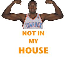 Serge Ibaka Not in my House by Dexter4