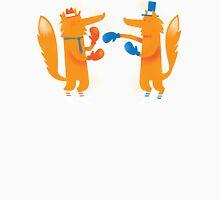 Posh Foxes like to Box while wearing Socks T-Shirt