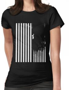 Falling Man Womens Fitted T-Shirt