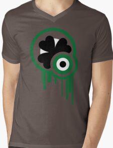 Pop Shamrock Mens V-Neck T-Shirt