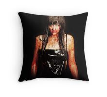American Mary - Katharine Isabelle Throw Pillow