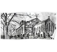 Tanfield Church Panoramic Poster