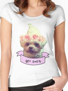 sassy puppy Women's Fitted Scoop T-Shirt