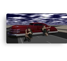 The Killer Elite - Double Hitters on Runway 26 Canvas Print