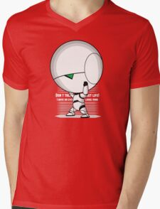 The weight of the world Mens V-Neck T-Shirt