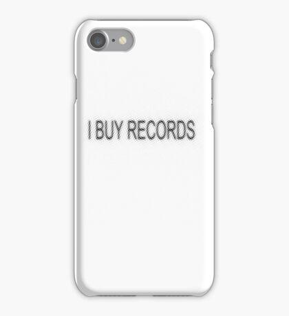 I BUY RECORDS iPhone Case/Skin