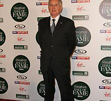 John Watson attends the MotorSport Hall Of Fame 2014 charity auction  by Keith Larby