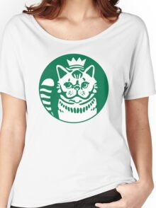 Mr Eggs the Cat Latte Company Women's Relaxed Fit T-Shirt