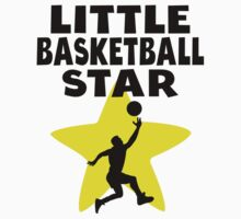 Little Basketball Star Kids Tee
