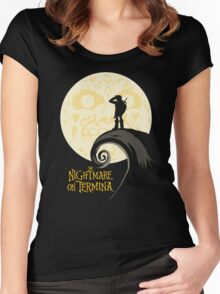 The Nightmare on Termina Women's Fitted Scoop T-Shirt