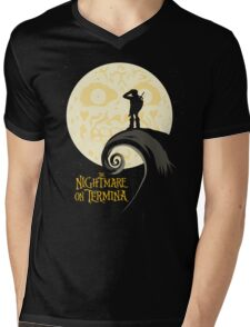 The Nightmare on Termina Mens V-Neck T-Shirt