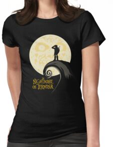 The Nightmare on Termina Womens Fitted T-Shirt