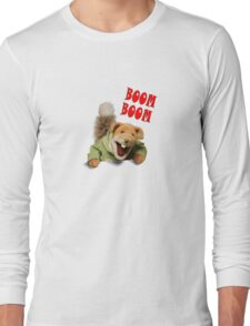 boom boom basil brush Long Sleeve T-Shirt