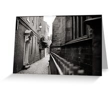 Up Our Alley Greeting Card