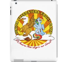 Junior Speedsters Flight Camp  iPad Case/Skin