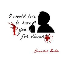 Hannibal would love to have you for dinner - v. II by FandomizedRose