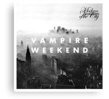 Modern Vampires of the City Canvas Print