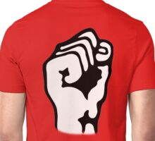 Power to the People, Grip, Fist, Punch, Fight, Strength, Power, Grasp, tough, Karate, Martial Arts, MMA, on RED Unisex T-Shirt